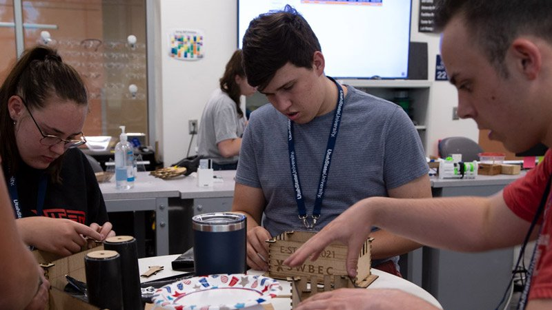 Engineering State came back this year in a modified format, offering two single-day camps for 100 high school students. https://t.co/d1Zp3DuyUR https://t.co/7JZ5OYLwYs