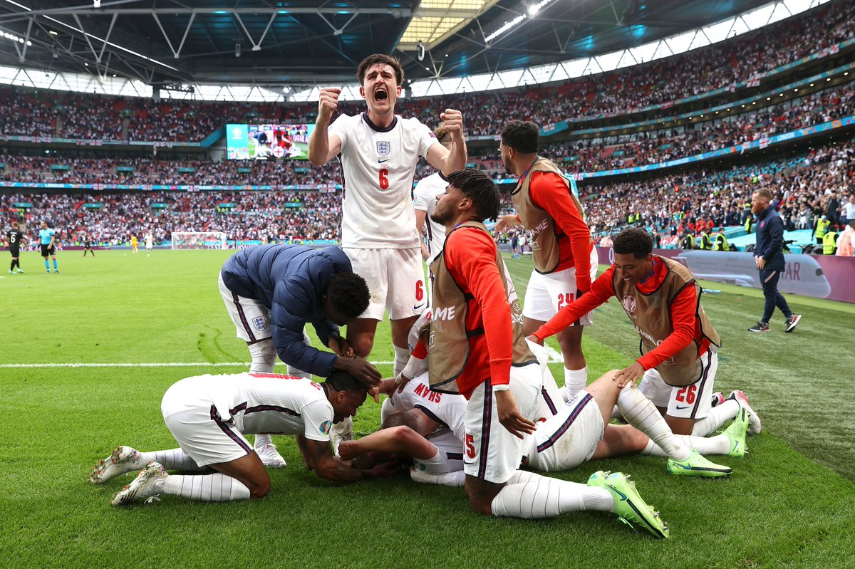 RT @HarryMaguire93: England 2 - 0 Germany 🏴 🇩🇪 https://t.co/GBifp3uFDj