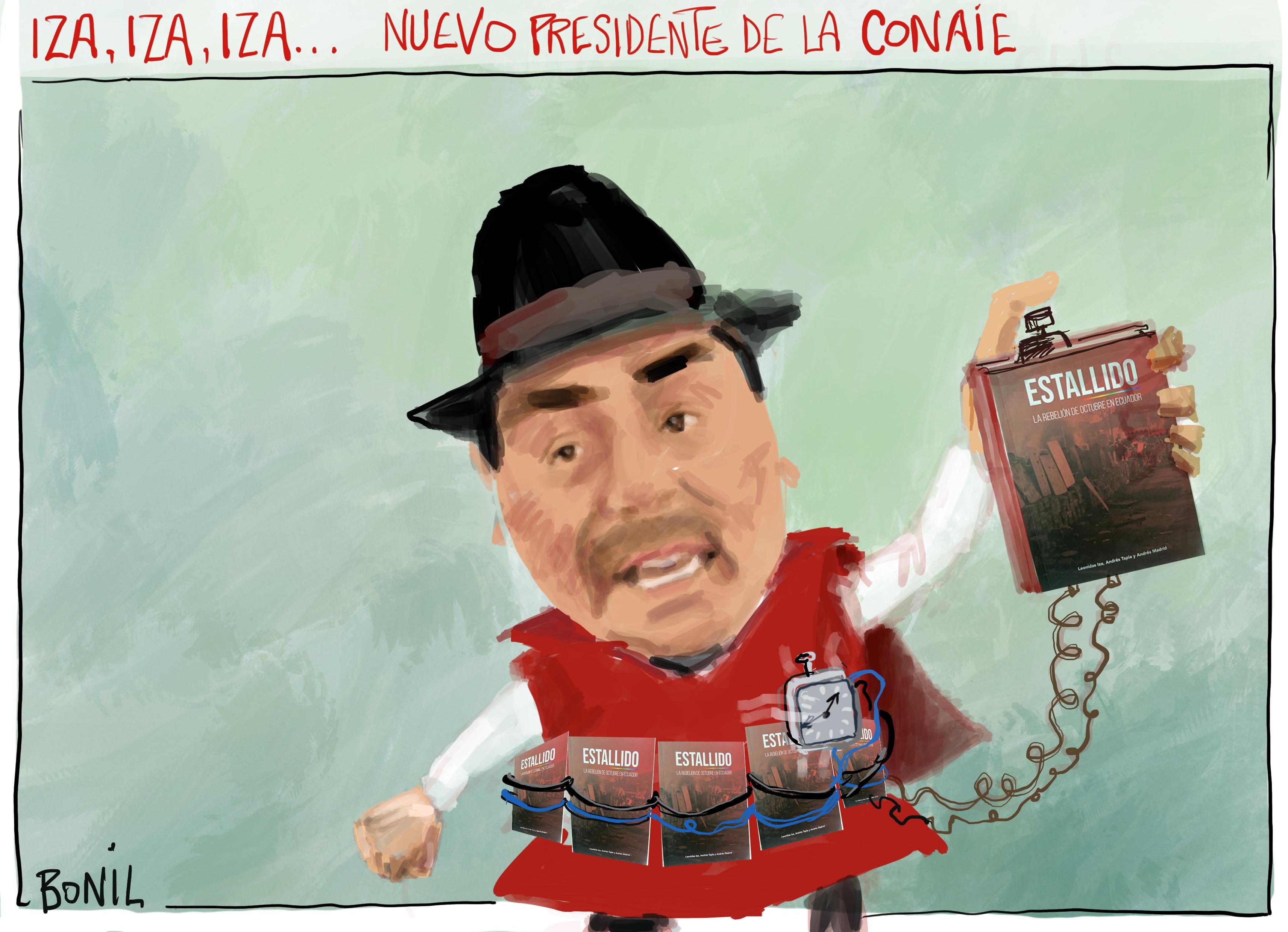 "Xavier Bonilla (BONIL) on Twitter: ""Leonidas Iza, presidente electo de la CONAIE https://t.co/IIuT9B4jiN"" / Twitter"