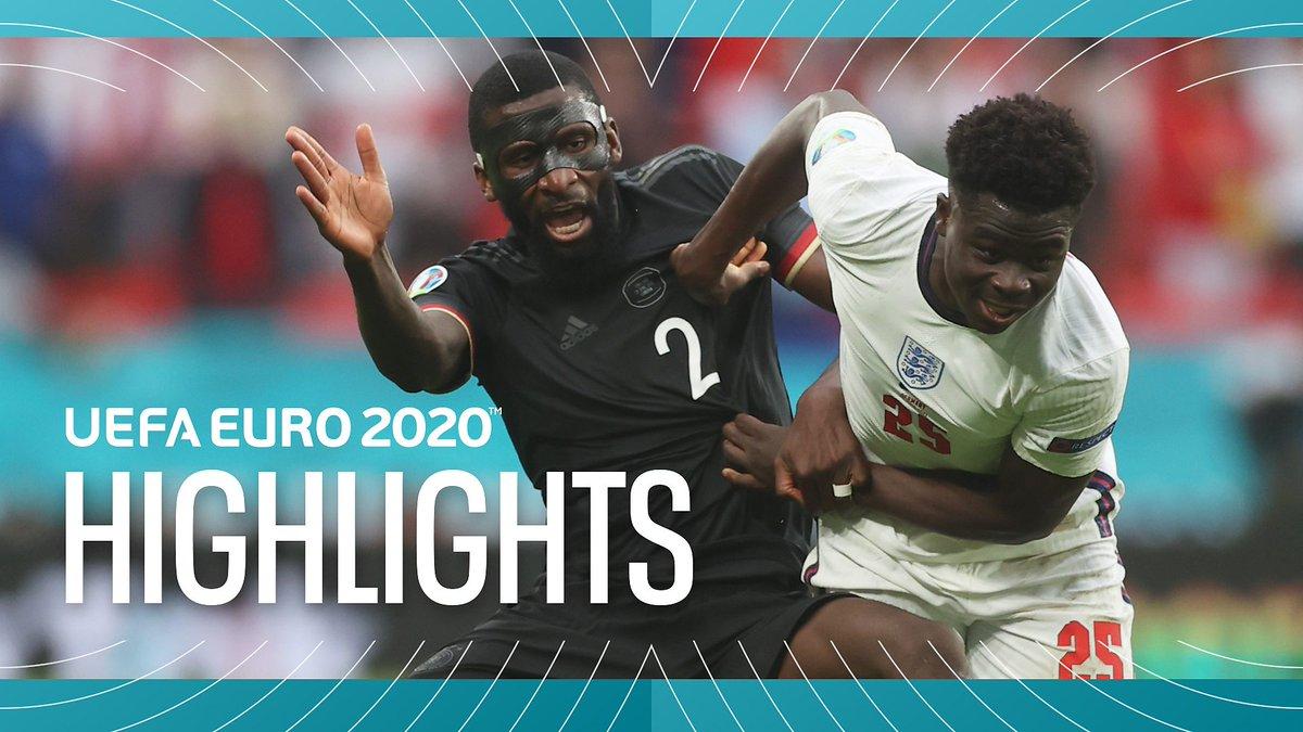 ITV EURO 2020 Highlights - June 29, 2021
