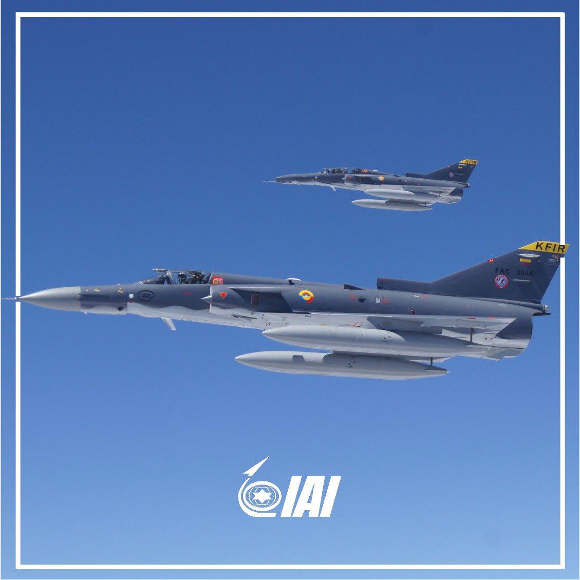 Sri Lankan Kfir jets