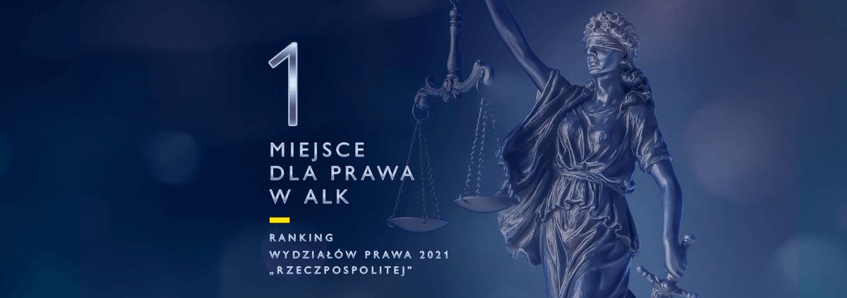 """Sezon rankingów kończymy pierwszym miejscem dla naszego Kolegium Prawa w rankingu dziennika """"Rzeczpospolita"""" @rzeczpospolita. Zapraszamy na studia do nas! ☺️"""