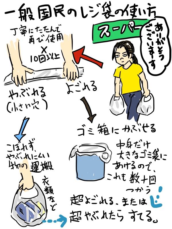 捨てる以外にも使い道はある!レジ袋の利用法は多様にあることを伝えたい!