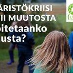 Voiko koulu toimia kestävyyden edelläkävijänä ja uuden tien avaajana ympäristökriisin keskellä? Seuraa @SuomiAreena 14.7. klo 15-15.45!  Mukana ministeri @MikkonenKrista, prof. Sirpa Tani, kehittäjäope @JussiTomberg ja @oajry Lauri Kurvonen. #ympäristökasvatus #SuomiAreena