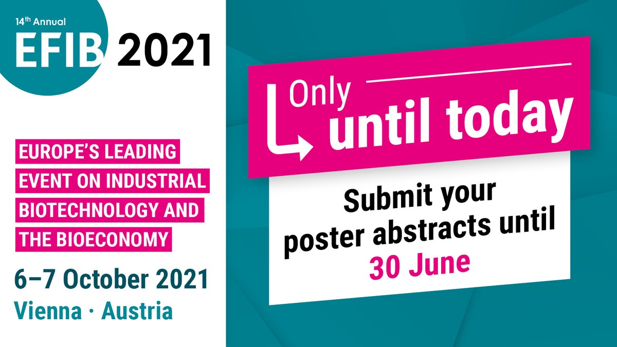 test Twitter Media - 📢 LAST DAY to apply for a #freespace at @EFIBconference #StartUpVillage or submit your #poster abstracts! 🎯  Don't miss your chance! 👇  ➡️ https://t.co/0A2dI4bkzb ➡️ https://t.co/ttsTsI6hLr https://t.co/hcEc4u8rxb