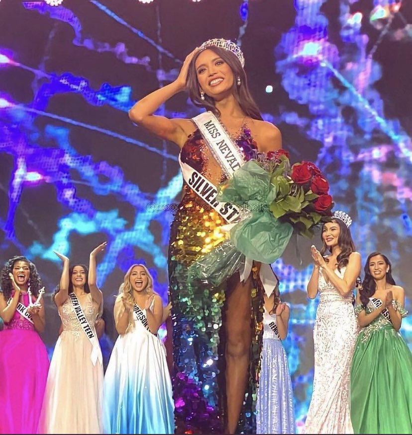 👑 Congratulations to Kataluna Enriquez, 26, Filipina-American who took home the title of Miss Nevada USA. She will make history as the first transgender woman to compete in Miss USA. I AM SO HAPPY. 🏳️⚧️🏳️🌈🇵🇭 https://t.co/FFT0Q9zHhl