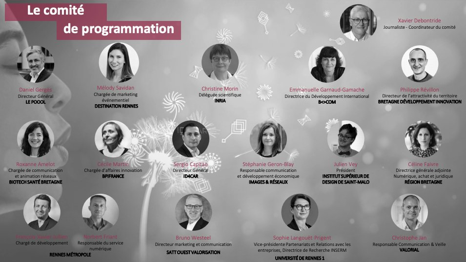 C'est avec beaucoup d'enthousiasme que Biotech Santé Bretagne participe au comité de pilotage de la #digitalTC 2021😊 Cette année place à l'#innovation #vertueuse ! 📅Prenez date : le 3 décembre à #Rennes