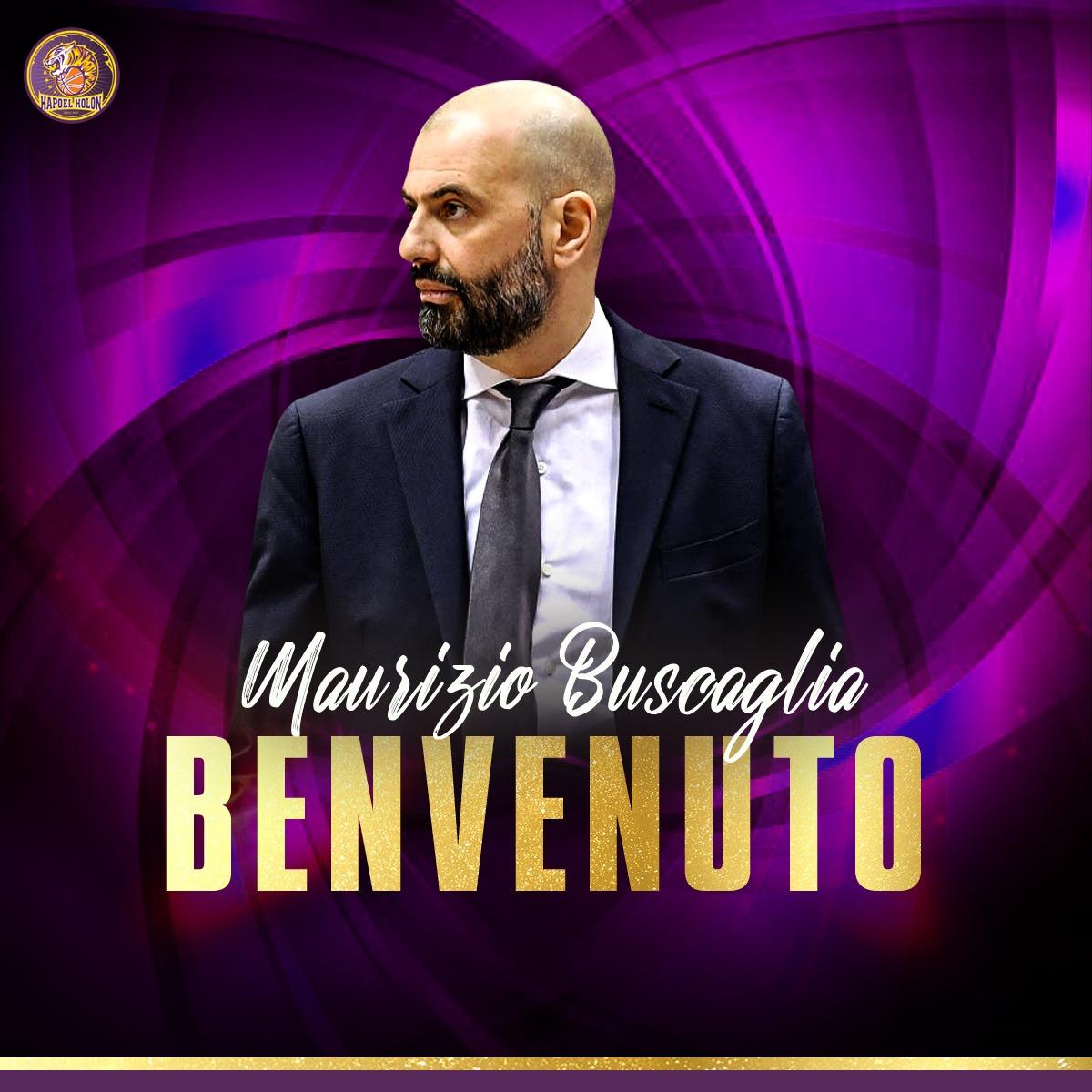 Ufficiale: Maurizio Buscaglia nuovo allenatore dell'Hapoel Holon