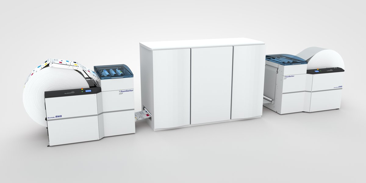 Future proof your production inkjet operation: new Hunkeler Gen8 winders are designed for where the market is headed, able to run heavier, wider rolls at higher speeds with faster roll changes.