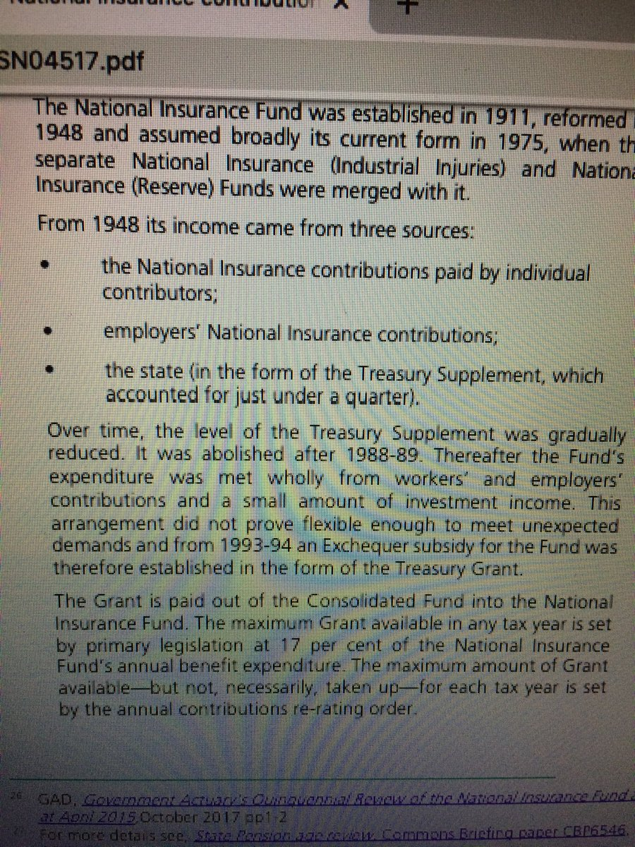 A little reminder of what the NI contributions were for #CEDAWPEOPLESTRIBUNAL