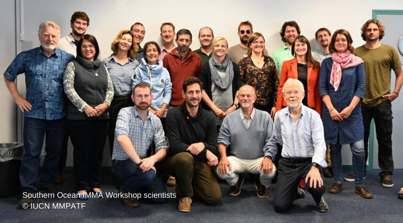 Nice to see our #IMMAs Important Marine Mammal Area team & the scientists from the Antarctic from the Extended Southern Ocean Workshop! & again thanks to sponsors @OFBiodiversite @IucnOcean @NRDC @OceanCare @whalesorg @TethysResearch @AWIOnline