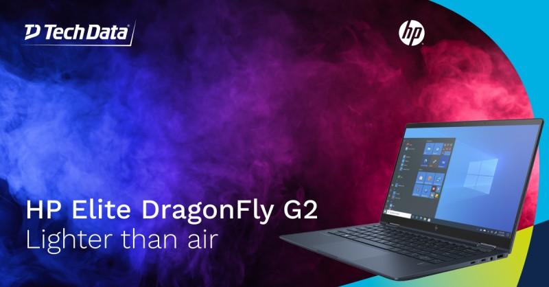 De HP Elite Dragonfly G2 is met een…