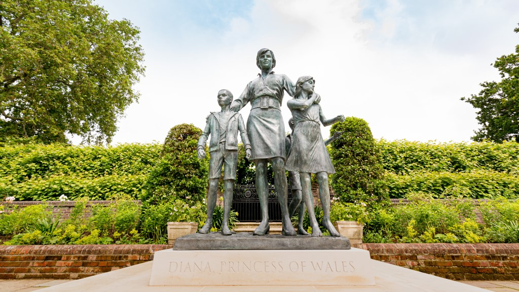 Historic Royal Palaces On Twitter The Statue Stands In The Palace S Newly Conserved Sunken Garden With An Updated Planting Scheme Designed By Pip Morrison Featuring A Number Of The Princess S Favourite Blooms 3 5