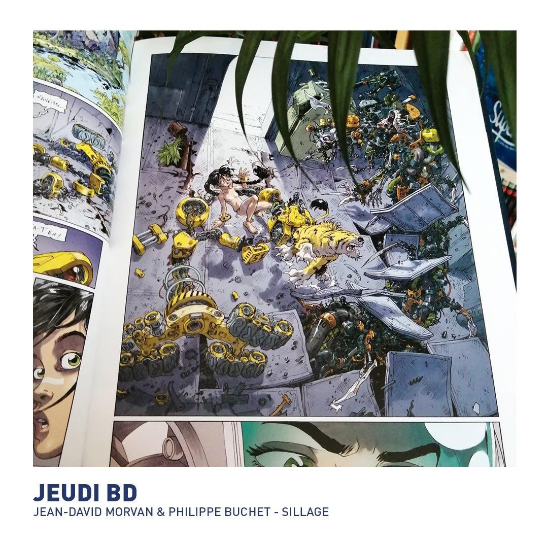 #jeudibd Quelle est votre bande dessinée du jour ? Nous, c'est le tome 10 de Sillage de @JDMorvan et Philippe Buchet (@DelcourtBD), Fauve Jeunesse 2008 !  #bd #bandedessinee #angouleme #fibd https://t.co/7CITRO7Rsi