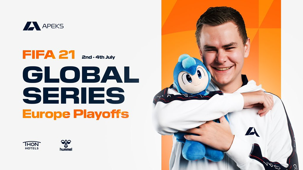 Good luck to my good friend and teammate @RasmussenFIFA in todays XBOX Playoffs! 🤩🇧🇻  Show them what you're made off and remember to have fun! 😁