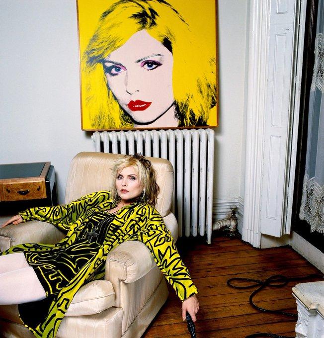 Happy birthday Deborah Harry (Blondie)!! 1 July 1945