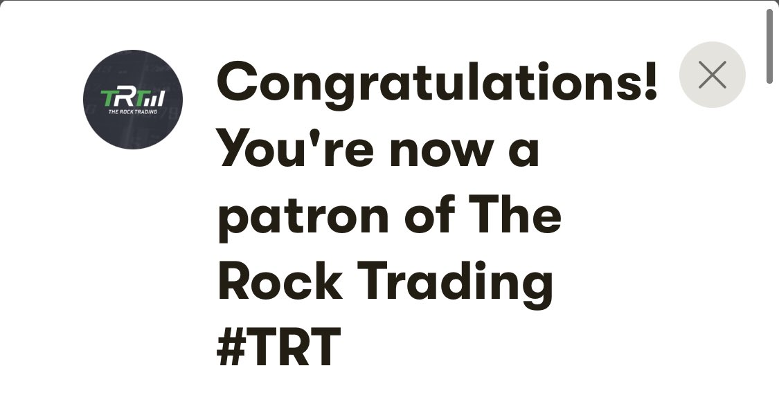 the rock trading patreon)