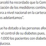 Image for the Tweet beginning: #diabetESP  Alrededor de 1000 personas