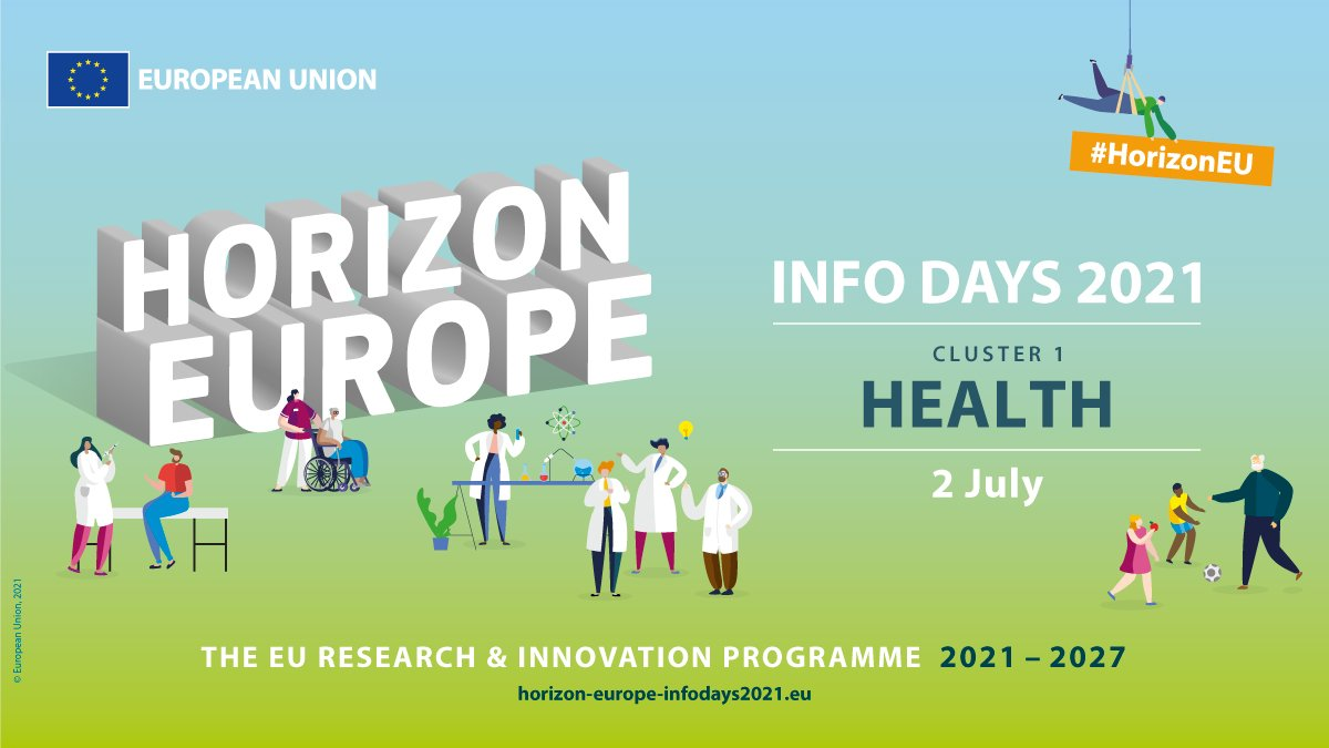We are looking forward to the #HorizonEU Cluster 1 #Health Brokerage event on Monday! 👏 🚀 📅 Missed the chance to register? -> No problem. We help you finding the right partners for your project idea! Just get in touch! 🗨️ 👉https://t.co/huPD9AbvgY