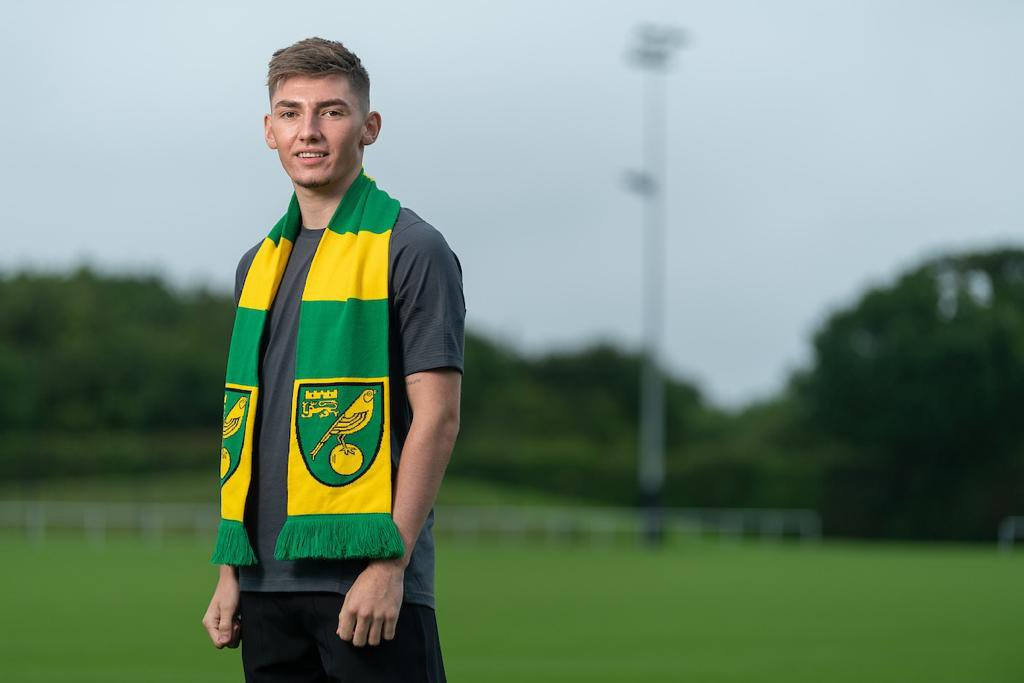 NORWICH SIGN GILMOUR ON LOAN