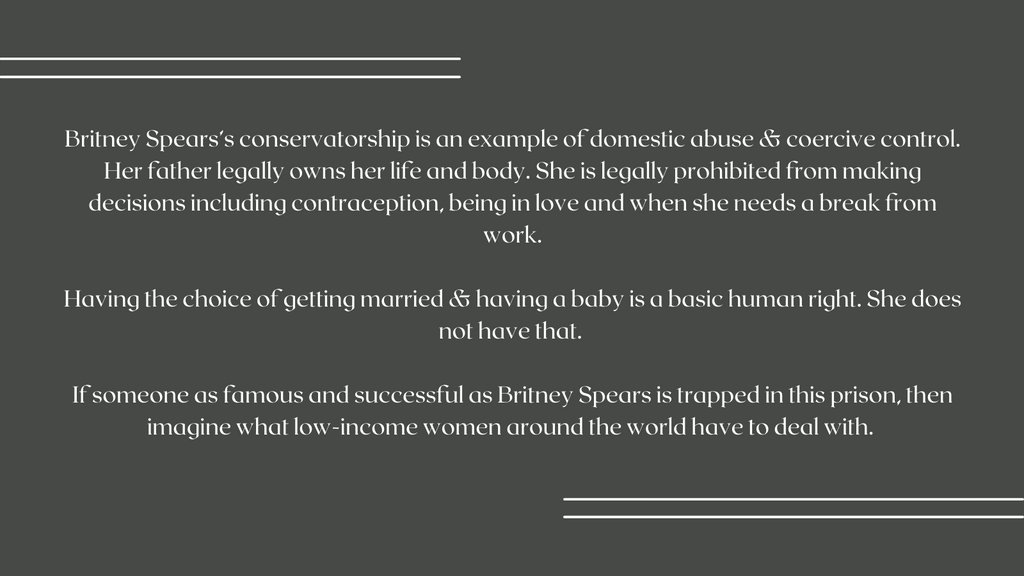 Bill Cosby is free, but Britney is not?! #FreeBritney #Domesticabuse #coercivecontrol #endviolence #vawg #paladinnsas