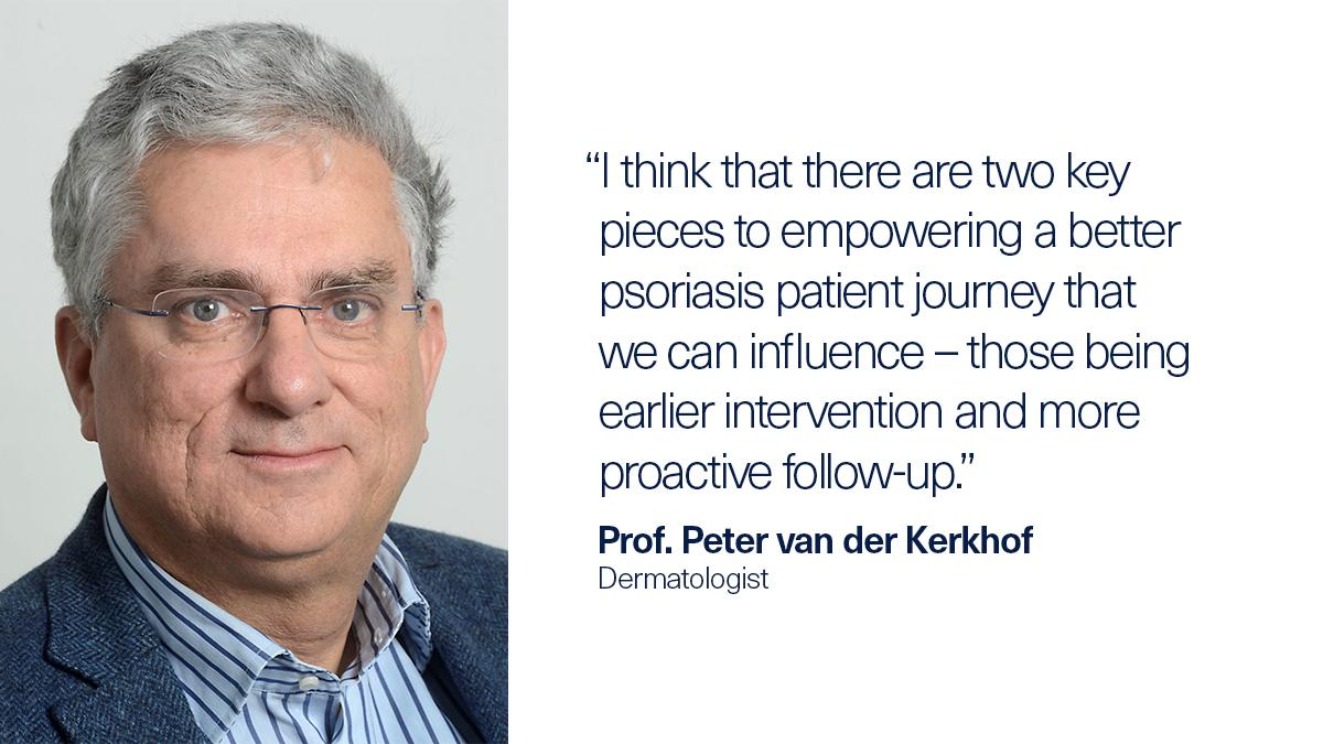 How can #dermatologists work to understand their #psoriasis patients' individual challenges and goals? Prof. Peter van der Kerkhof shares ways to empower a better patient journey. #WPPAC21 https://t.co/3GHsmXoNsw