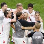 Image for the Tweet beginning: Tonight, Denmark will be playing