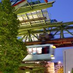 Image for the Tweet beginning: Whizzing around Wuppertal on a