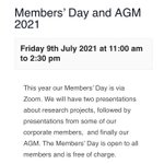 Image for the Tweet beginning: Join us for our #AGM