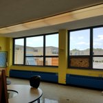 Image for the Tweet beginning: 2nd and 3rd classrooms looking