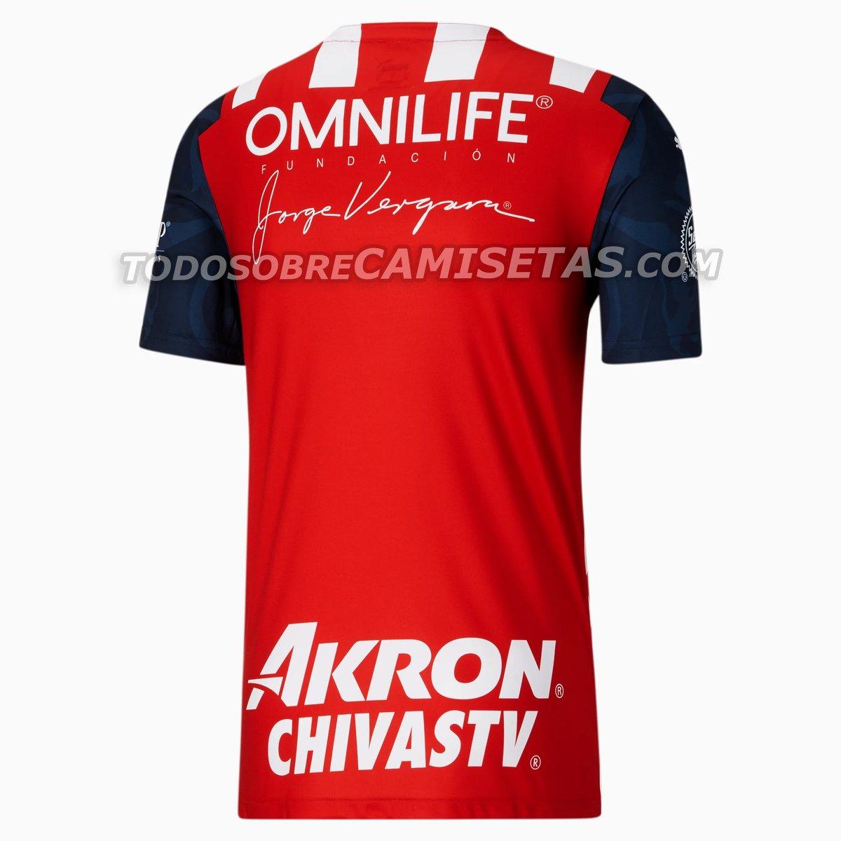 Jerseys de Chivas 2021-22