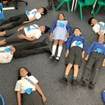 Image for the Tweet beginning: Blue Class have been relaxing