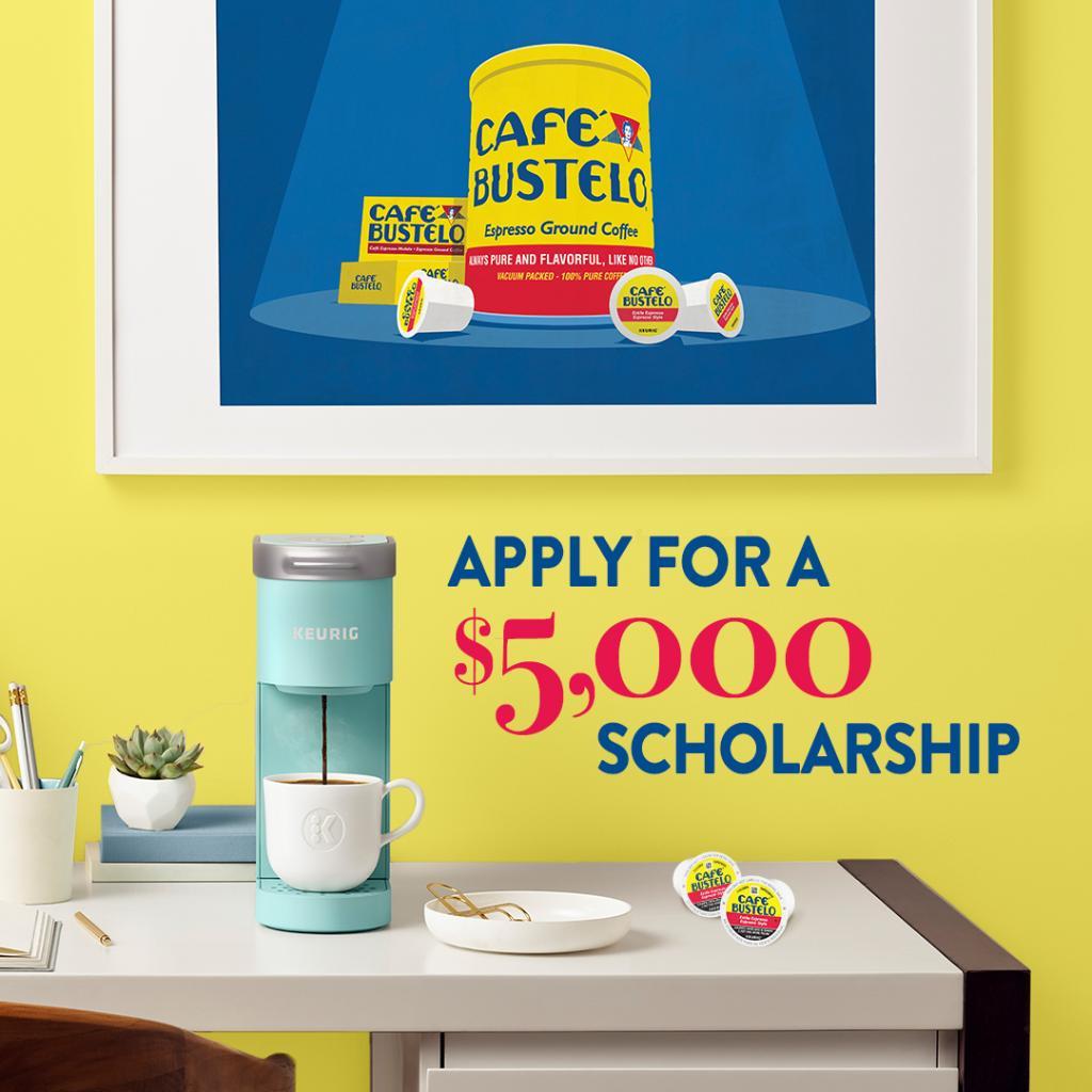 ¿Cuál es tu pasión? Follow your dreams with the help of Café Bustelo. Apply now for the Café Bustelo El Café del Futuro Scholarship: spr.ly/6010yThw2