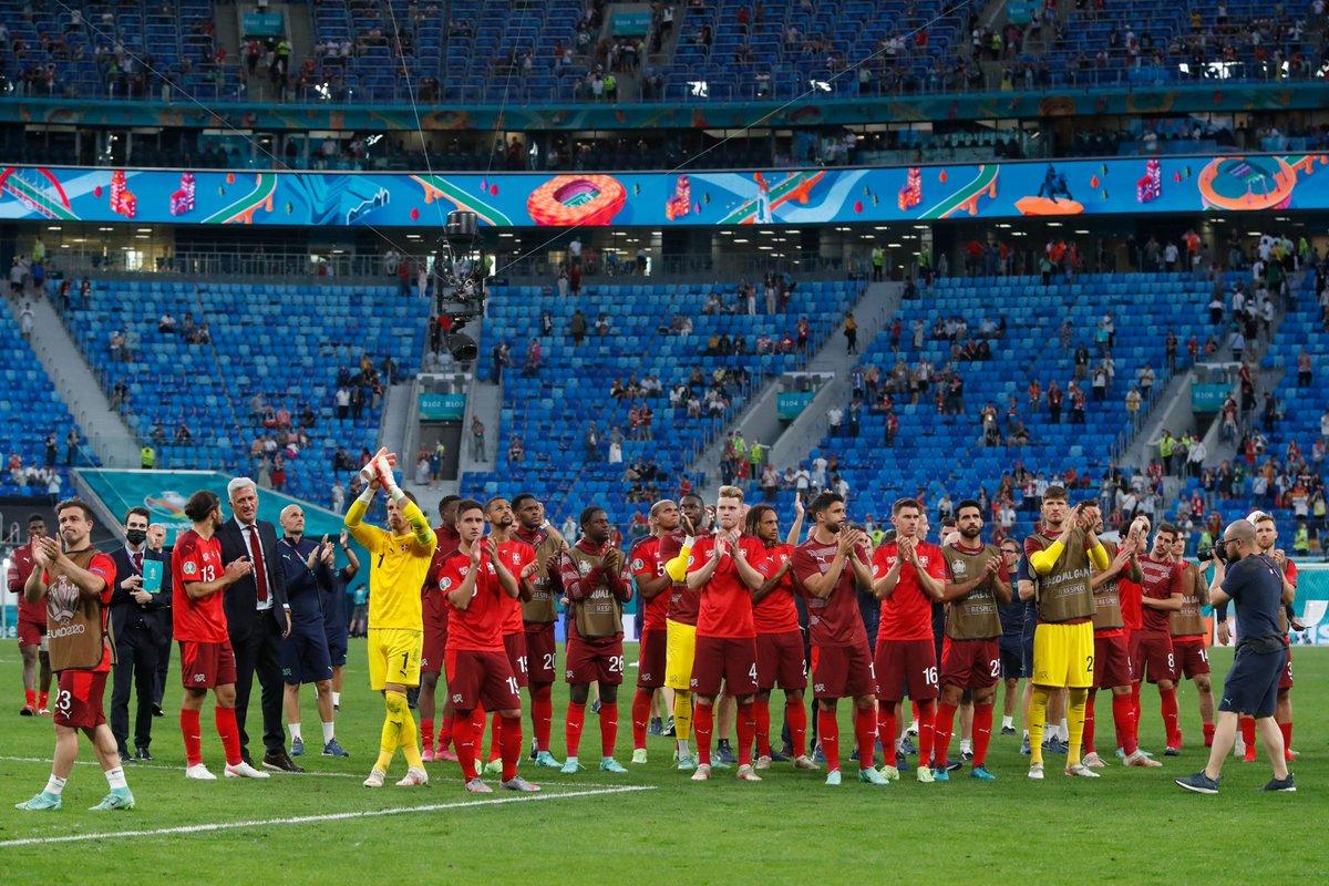 ركلات الترجيح تُأهل إسبانيا إلى نصف نهائي كأس أمم اوروبا على حساب سويسرا