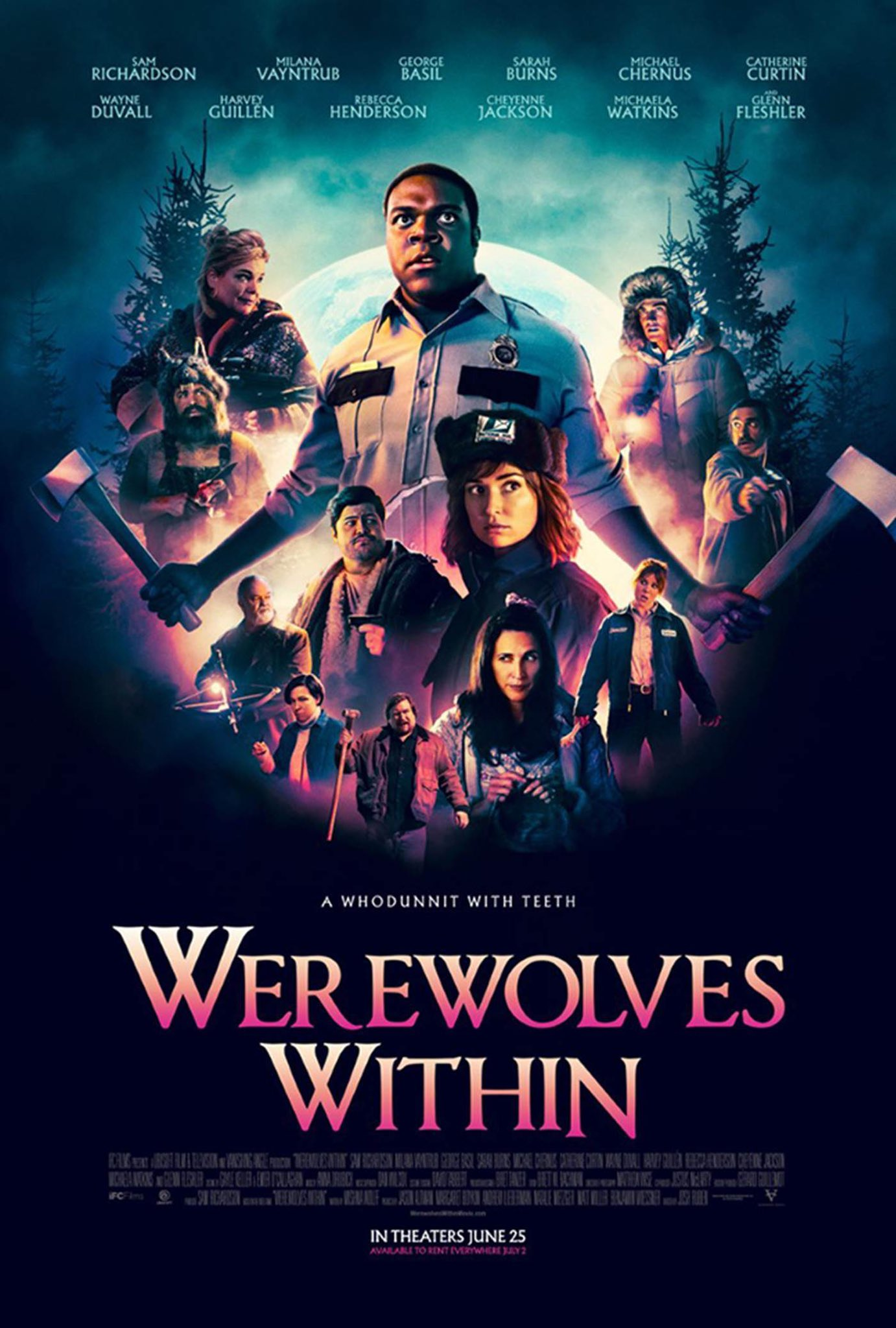 """⭕️ Bryan Dechart on Twitter: """"Thanks for inviting @AmeliaRBlaire & me  to the #WerewolvesWithin Virtual Premiere, @IFCFilms!  https://t.co/imTZFNFmPd"""" / Twitter"""