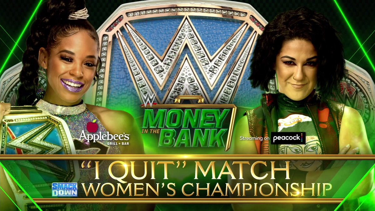"""SmackDown Women's Title Now An """"I Quit"""" Match At Money In The Bank"""