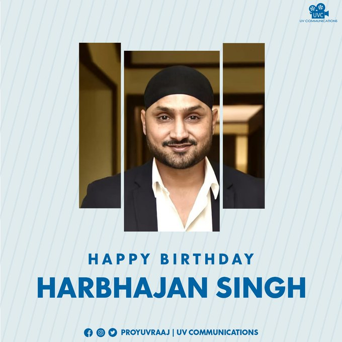 Wishing Cricketer and Actor sir a very happy birthday !