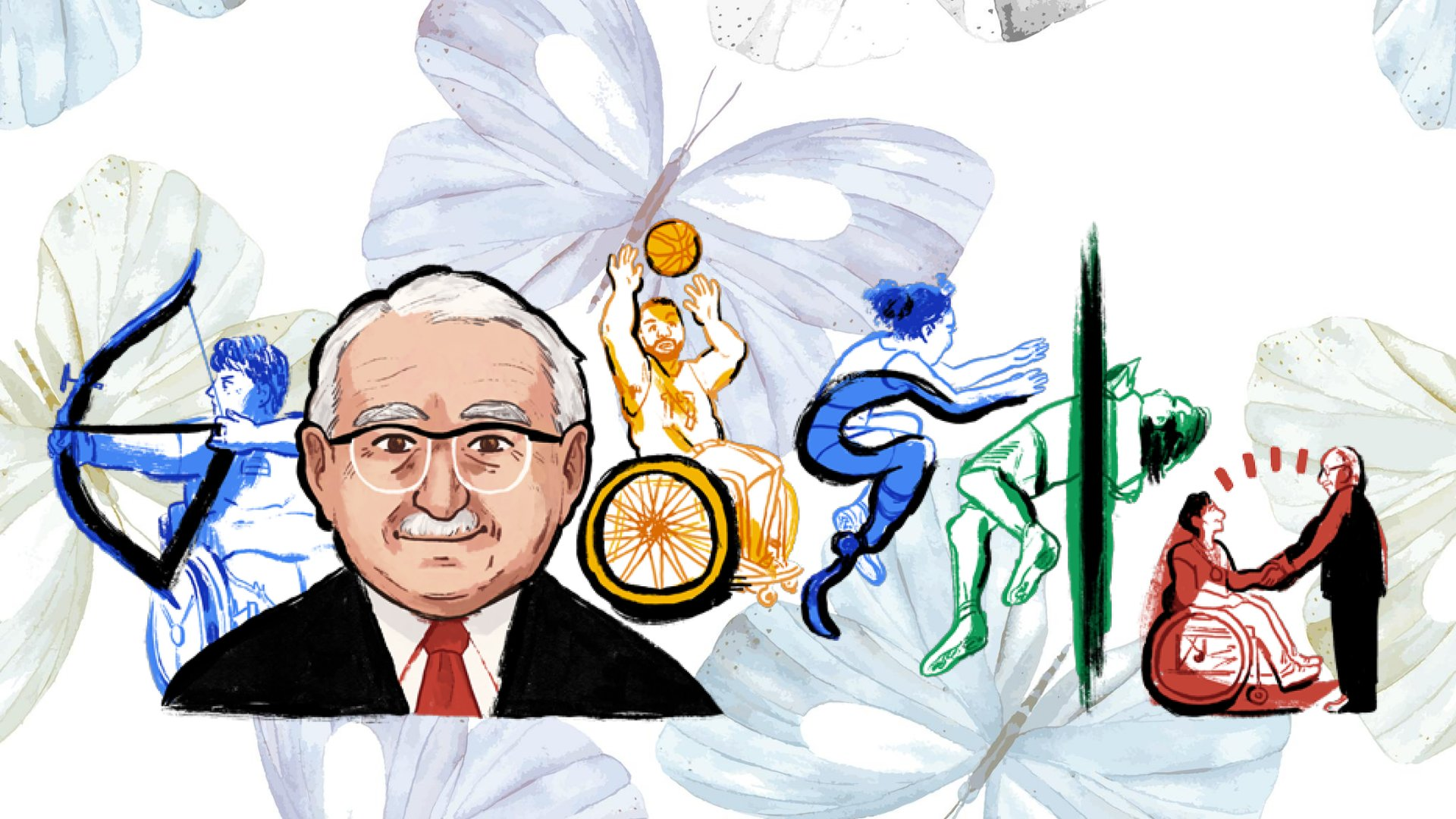 Honoring Father of Paralympic Games Sir Ludwig Guttmann's birth anniversary with a Google Doodle