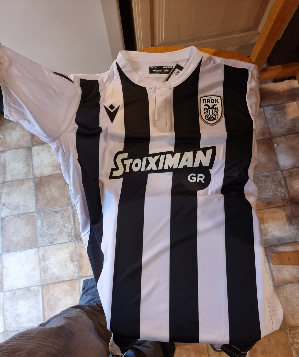 Superb shirt received today from @secretshirtco - great service all round.