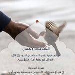Image for the Tweet beginning: الرحمة في الإسلام تشمل كل