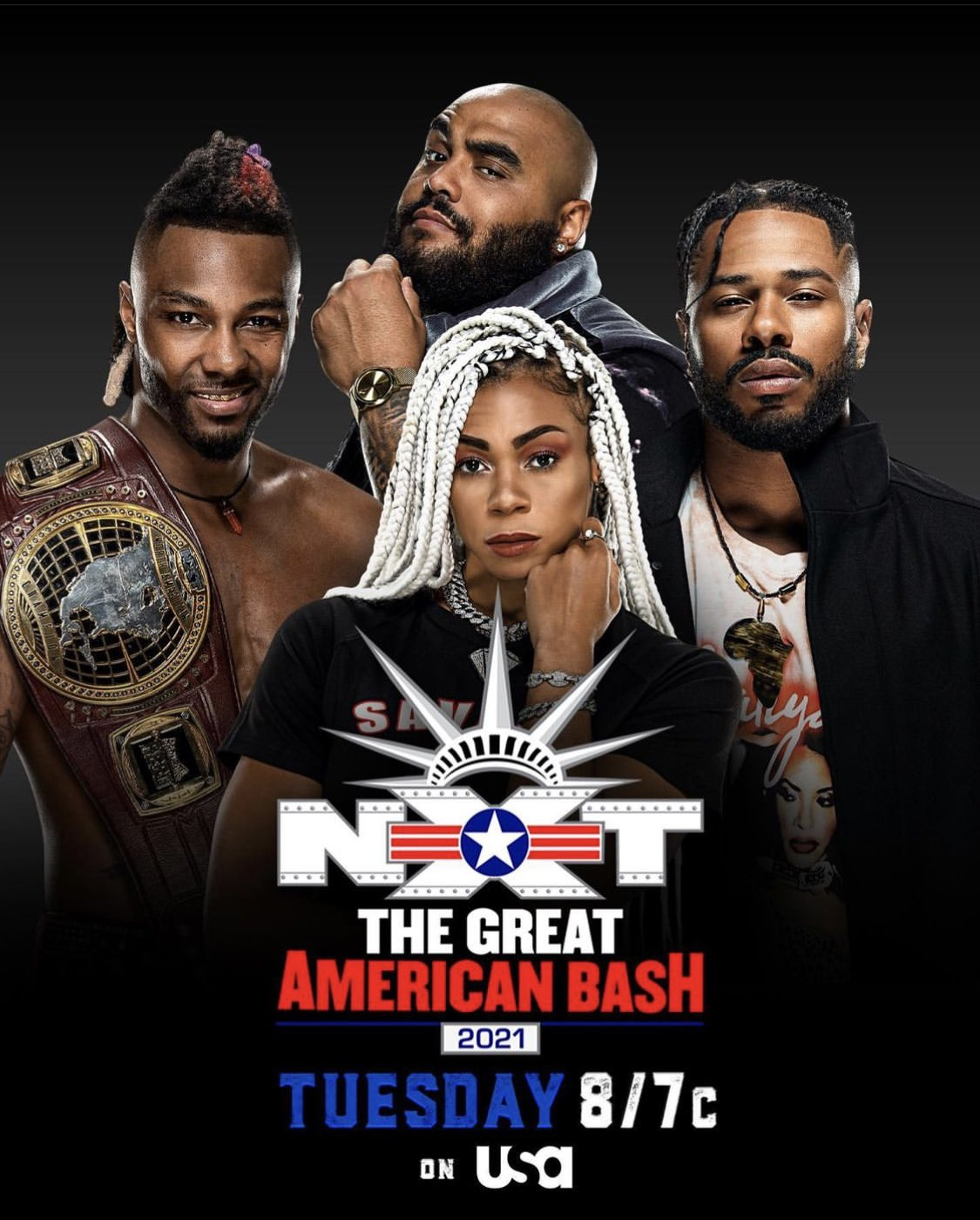 WWE NXT 6 July 2021 (The Great American Bash) English 720p WEBRip 850MB Download