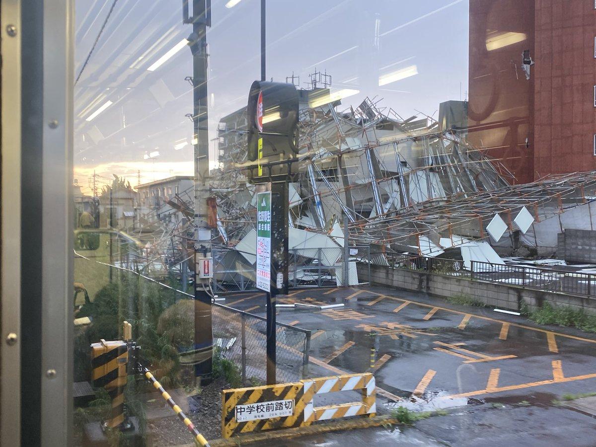 両毛線で佐野駅で安全確認・遅延 解体現場の足場が崩れた影響