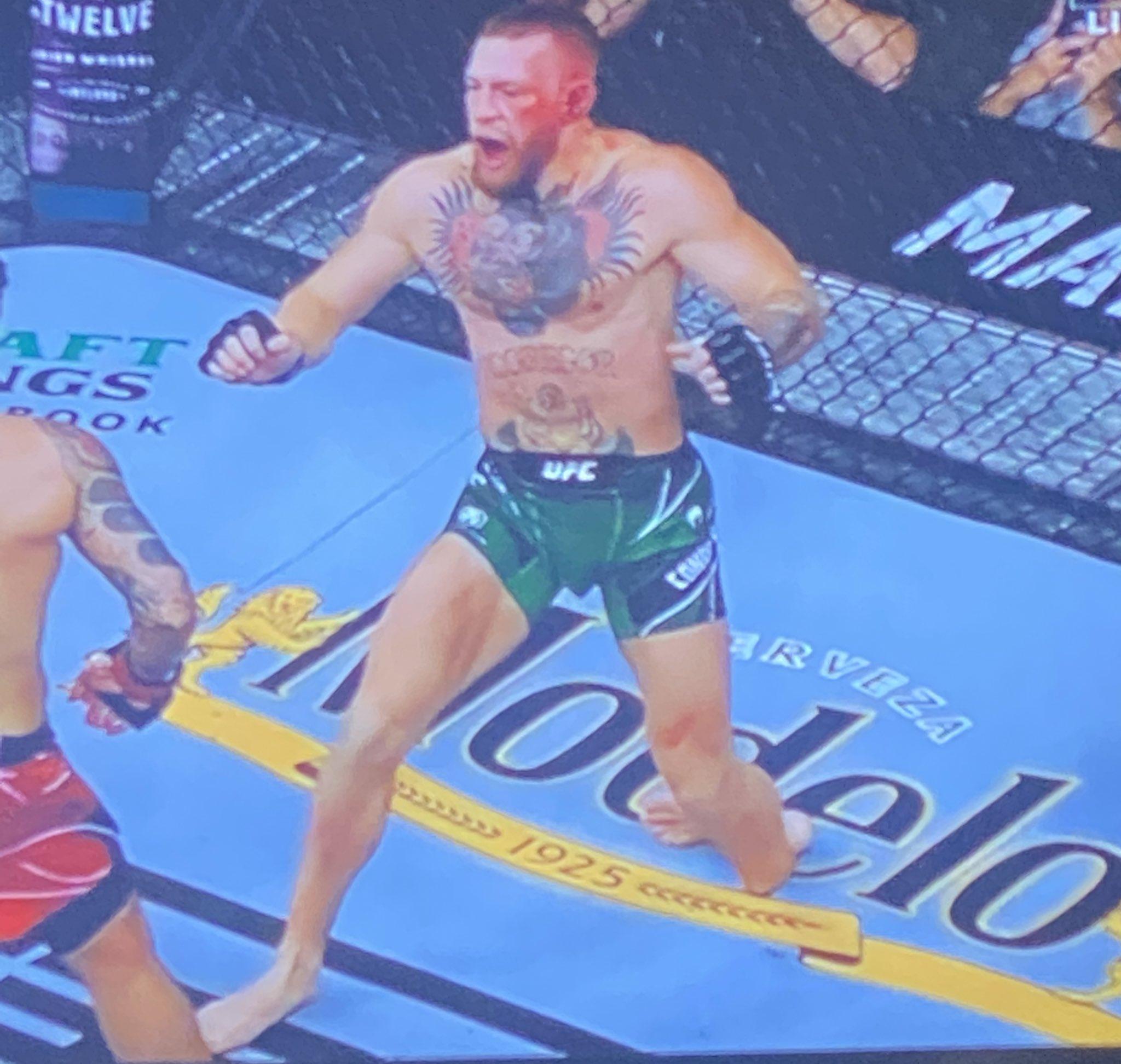 Dustin Poirier volvió a derrotar a Conor McGregor en la UFC.
