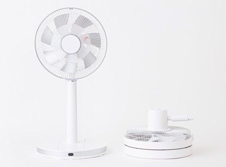山善の扇風機に注目!使わない時はコンパクトになる仕組みが便利!
