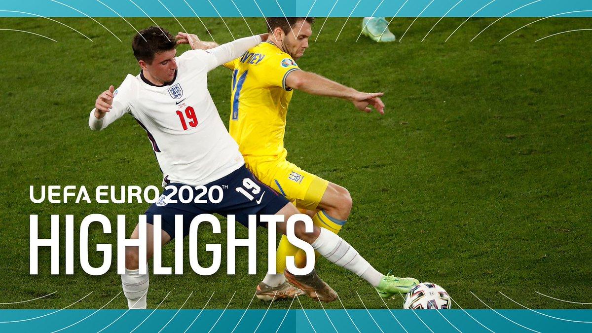 ITV EURO 2020 Highlights - July 03, 2021