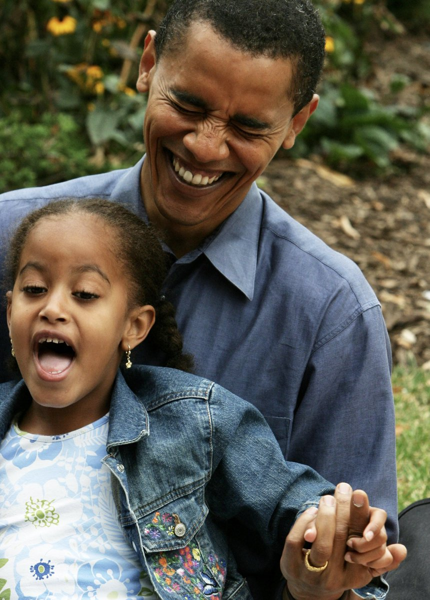 Happy Fourth of July, and Happy Birthday, Malia! It's been such a joy to watch you begin to make your own way in the world with poise, grace, and humor. I miss the days when you thought the fireworks were for you. https://t.co/tEF7q1wtEi
