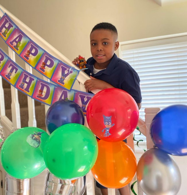 Happy birthday to my prince - Jadon.  Happy 11th birthday