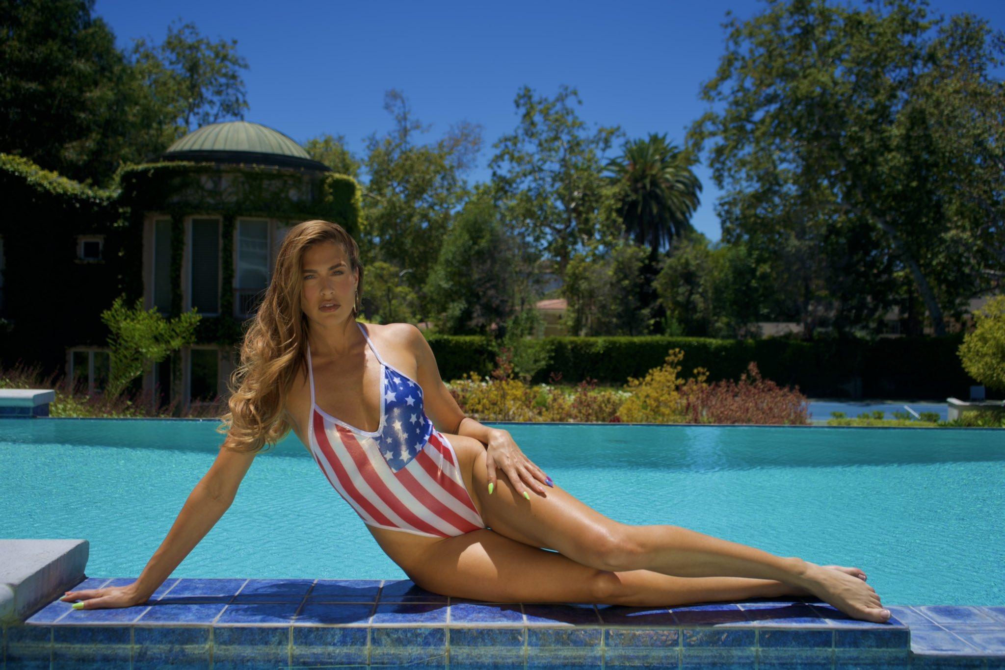 WWE Superstars Wishes Happy 4th Of July With Bikini Photos 2
