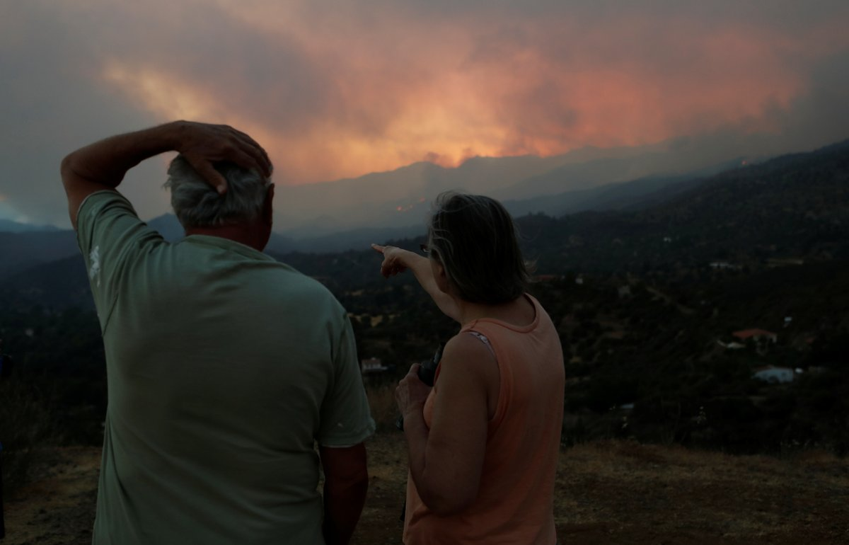 Four People Dead as Huge Forest Fire Devastates Cyprus for Second Day