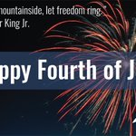 Image for the Tweet beginning: Happy 4th of July- a